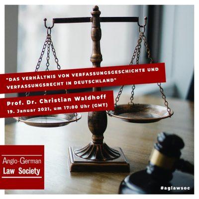 """Neue Vortragsreihe: """"Das Verhältnis von Verfassungsgeschichte und Verfassungsrecht in Deutschland"""""""