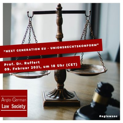 "Neue Vortragsreihe: ""Next Generation EU – unionsrechtskonform"""
