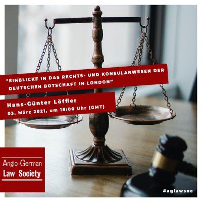 """Neue Vortragsreihe: """"Einblicke in das Rechts- und Konsularwesen der deutschen Botschaft in London"""""""