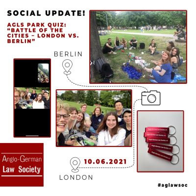 "AGLS Park Quiz ""Battle of the cities – London vs. Berlin"""